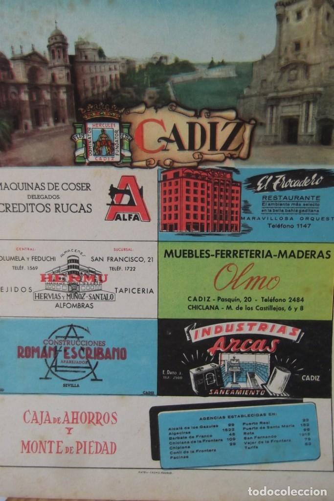 Coleccionismo de Revista Temas Españoles: # PROVINCIAS DE ESPAÑA # LAMINAS #PUBLICIDAD DE EPOCA #CIRCA 1950-1960 # - Foto 4 - 172337689