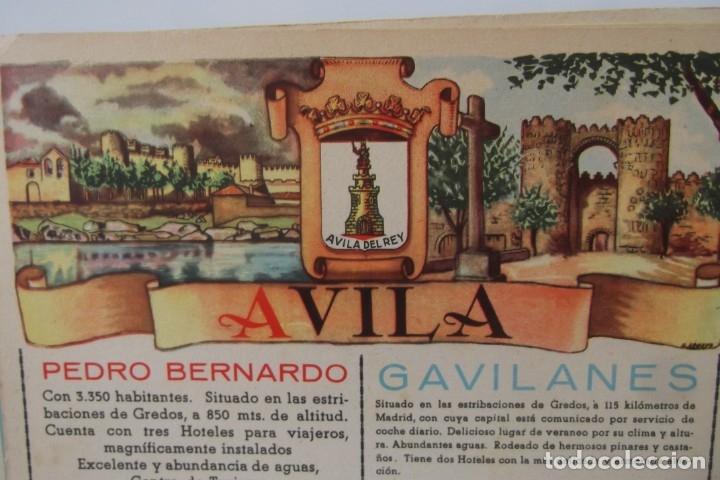 Coleccionismo de Revista Temas Españoles: # PROVINCIAS DE ESPAÑA # LAMINAS #PUBLICIDAD DE EPOCA #CIRCA 1950-1960 # - Foto 7 - 172337689
