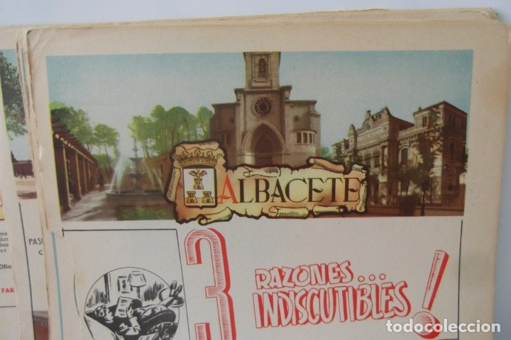 Coleccionismo de Revista Temas Españoles: # PROVINCIAS DE ESPAÑA # LAMINAS #PUBLICIDAD DE EPOCA #CIRCA 1950-1960 # - Foto 8 - 172337689