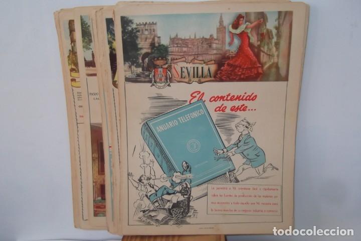 Coleccionismo de Revista Temas Españoles: # PROVINCIAS DE ESPAÑA # LAMINAS #PUBLICIDAD DE EPOCA #CIRCA 1950-1960 # - Foto 9 - 172337689
