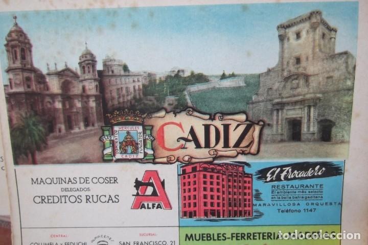Coleccionismo de Revista Temas Españoles: # PROVINCIAS DE ESPAÑA # LAMINAS #PUBLICIDAD DE EPOCA #CIRCA 1950-1960 # - Foto 17 - 172337689