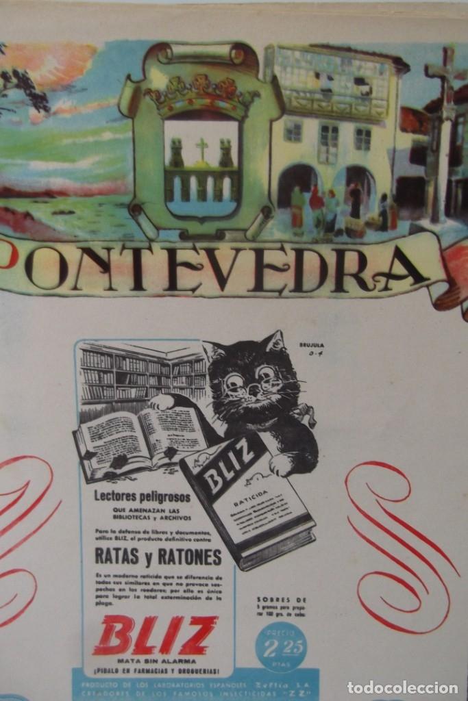 Coleccionismo de Revista Temas Españoles: # PROVINCIAS DE ESPAÑA # LAMINAS #PUBLICIDAD DE EPOCA #CIRCA 1950-1960 # - Foto 21 - 172337689