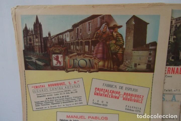 Coleccionismo de Revista Temas Españoles: # PROVINCIAS DE ESPAÑA # LAMINAS #PUBLICIDAD DE EPOCA #CIRCA 1950-1960 # - Foto 39 - 172337689