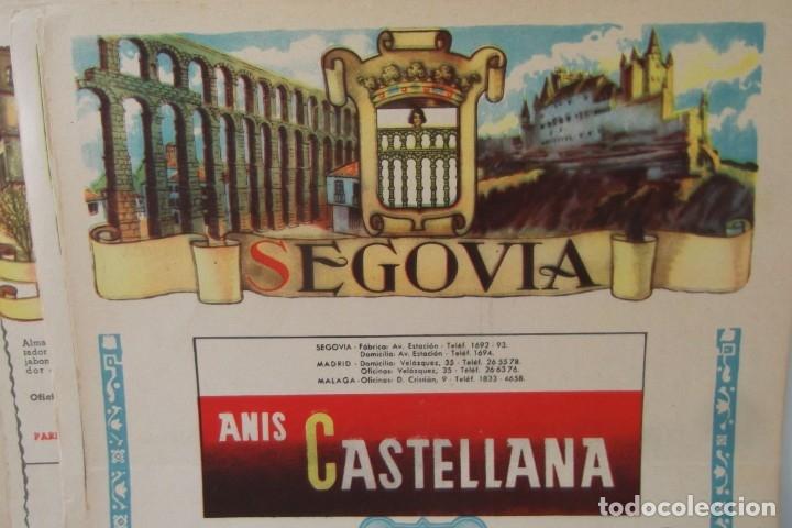 Coleccionismo de Revista Temas Españoles: # PROVINCIAS DE ESPAÑA # LAMINAS #PUBLICIDAD DE EPOCA #CIRCA 1950-1960 # - Foto 45 - 172337689