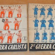 Collectionnisme de Magazine Temas Españoles: 1ª Y 2ª GUERRA CARLISTA - TEMAS ESPAÑOLES. Lote 172571692