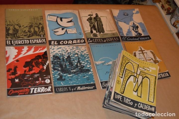 TEMAS ESPAÑOLES - LOTE 50 REVISTAS DIVERSOS TÍTULOS - VER (Papel - Revistas y Periódicos Modernos (a partir de 1.940) - Revista Temas Españoles)