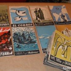Coleccionismo de Revista Temas Españoles: TEMAS ESPAÑOLES - LOTE 50 REVISTAS DIVERSOS TÍTULOS - VER. Lote 172648733