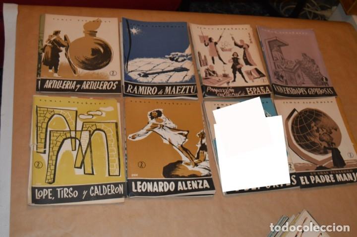 Coleccionismo de Revista Temas Españoles: TEMAS ESPAÑOLES - LOTE 50 REVISTAS DIVERSOS TÍTULOS - VER - Foto 2 - 172648733