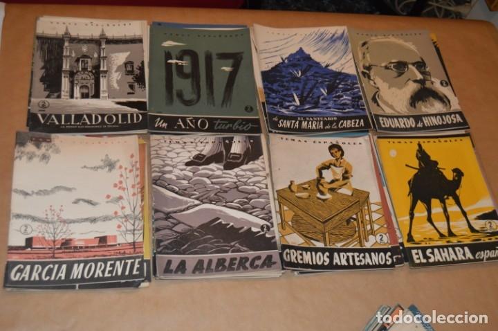 Coleccionismo de Revista Temas Españoles: TEMAS ESPAÑOLES - LOTE 50 REVISTAS DIVERSOS TÍTULOS - VER - Foto 4 - 172648733