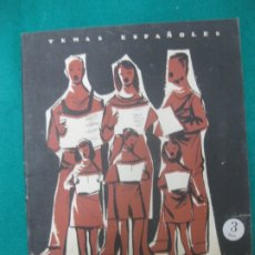 Coleccionismo de Revista Temas Españoles: MASAS CORALES. ANGEL NIÑO. TEMAS ESPAÑOLES Nº 247. PUBLICACIONES ESPAÑOLAS 1956.. Lote 173800818