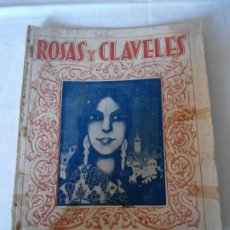 Coleccionismo de Revista Temas Españoles: ANTIGUO EJEMPLAR DE REVISTA ROSA Y CLAVELES AÑO 1940. Lote 174407602