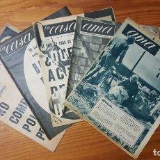 Coleccionismo de Revista Temas Españoles: LOTE DE 5 SUPLEMENTOS DE LA REVISTA AMA. AÑOS 60. FOTOS-REPORTAJE RIADAS DE SEVILLA Y EN ELS CORS.. Lote 177201019