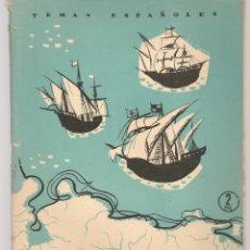 Coleccionismo de Revista Temas Españoles: TEMAS ESPAÑOLES. Nº 310. VIAJES MENORES. PUBLICACIONES ESPAÑOLAS. (B/A60). Lote 177710028