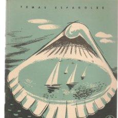 Coleccionismo de Revista Temas Españoles: TEMAS ESPAÑOLES. Nº 349. SAN SEBASTIÁN. JORGE DE VIGO. (B/A60). Lote 177713015
