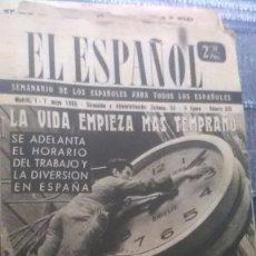 Coleccionismo de Revista Temas Españoles: EL ESPAÑOL, AÑO 1955. Lote 178563998