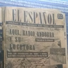 Coleccionismo de Revista Temas Españoles: EL ESPAÑOL, AÑO 1955. Lote 178564085