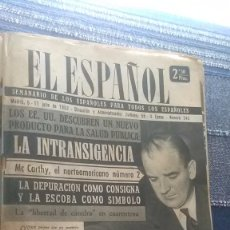 Coleccionismo de Revista Temas Españoles: EL ESPAÑOL, AÑO 1953. Lote 178564127