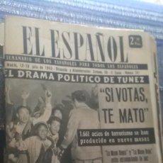 Coleccionismo de Revista Temas Españoles: EL ESPAÑOL, AÑO 1953. Lote 178564182