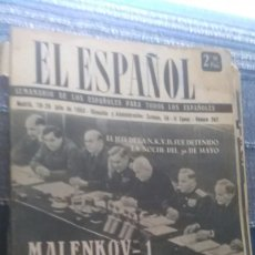 Coleccionismo de Revista Temas Españoles: EL ESPAÑOL, AÑO 1953. Lote 178564208
