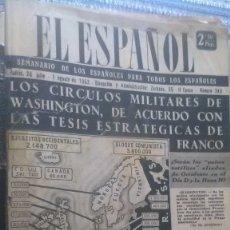 Coleccionismo de Revista Temas Españoles: EL ESPAÑOL, AÑO 1953. Lote 178564248