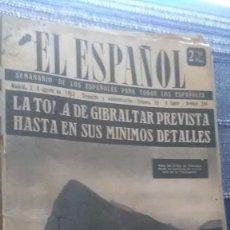 Coleccionismo de Revista Temas Españoles: EL ESPAÑOL, AÑO 1953. Lote 178564286
