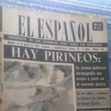 Coleccionismo de Revista Temas Españoles: EL ESPAÑOL, AÑO 1953. Lote 178564326
