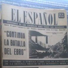 Coleccionismo de Revista Temas Españoles: EL ESPAÑOL, AÑO 1953. Lote 178564393