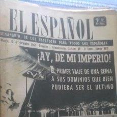 Coleccionismo de Revista Temas Españoles: EL ESPAÑOL, AÑO 1953. Lote 178564692