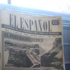 Coleccionismo de Revista Temas Españoles: EL ESPAÑOL, AÑO 1954. Lote 178564933