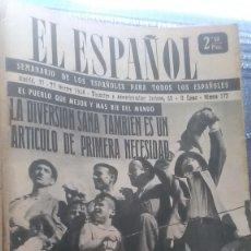 Coleccionismo de Revista Temas Españoles: EL ESPAÑOL, AÑO 1954. Lote 178564962