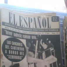 Coleccionismo de Revista Temas Españoles: EL ESPAÑOL, AÑO 1954. Lote 178565058