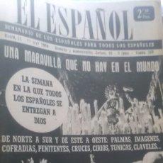 Coleccionismo de Revista Temas Españoles: EL ESPAÑOL, AÑO 1954. Lote 178565121