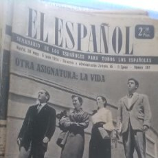 Coleccionismo de Revista Temas Españoles: EL ESPAÑOL, AÑO 1954. Lote 178565182