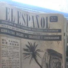 Coleccionismo de Revista Temas Españoles: EL ESPAÑOL, AÑO 1954. Lote 178565297