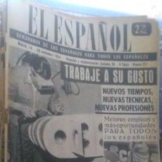 Coleccionismo de Revista Temas Españoles: EL ESPAÑOL, AÑO 1954. Lote 178565340