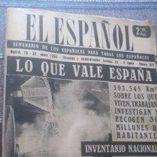 Coleccionismo de Revista Temas Españoles: EL ESPAÑOL, AÑO 1955. Lote 178569615