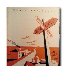 Coleccionismo de Revista Temas Españoles: TEMAS ESPAÑOLES Nº 33: MAPA GASTRONÓMICO. FONTEFRÍAS, LUIS DE. Lote 179881546