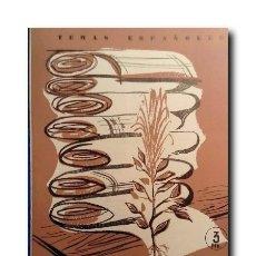 Coleccionismo de Revista Temas Españoles: TEMAS ESPAÑOLES Nº 393: FIBRAS TEXTILES. AGUIRRE PRADO, LUIS. Lote 179942591
