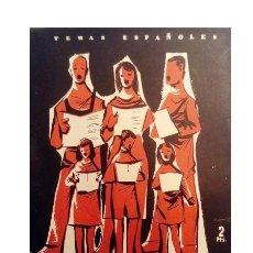 Coleccionismo de Revista Temas Españoles: TEMAS ESPAÑOLES Nº 247: MASAS CORALES NIÑO, ÁNGEL. Lote 179944048