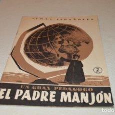Collectionnisme de Magazine Temas Españoles: EL PADRE MANJÓN. Lote 180290032