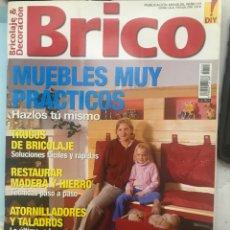 Coleccionismo de Revista Temas Españoles: REVISTA BRICO. Lote 182233125
