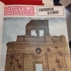 Coleccionismo de Revista Temas Españoles: CRONICA GUERRA ESPAÑOLA NO APTA PARA IRRENCOCILIABLES 1 AL 101. Lote 182308293