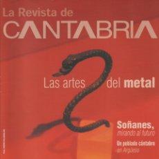 Coleccionismo de Revista Temas Españoles: LA REVISTA DE CANTABRIA. Lote 182382410