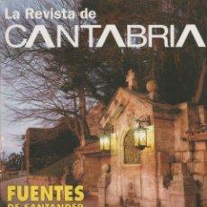 Coleccionismo de Revista Temas Españoles: LA REVISTA DE CANTABRIA. Lote 182384023