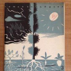 Coleccionismo de Revista Temas Españoles: TEMAS ESPAÑOLES N16 CLIMA SUELO Y AGRICULTURA. Lote 182489586