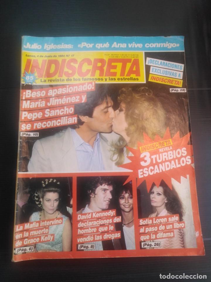 REVISTA INDISCRETA 1984 N 17 (Papel - Revistas y Periódicos Modernos (a partir de 1.940) - Revista Temas Españoles)