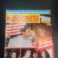 Coleccionismo de Revista Temas Españoles: REVISTA INDISCRETA 1984 N 17 . Lote 183358452