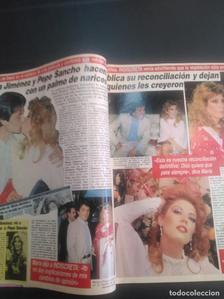 Coleccionismo de Revista Temas Españoles: Revista Indiscreta 1984 N 17 - Foto 3 - 183358452