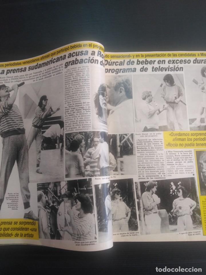 Coleccionismo de Revista Temas Españoles: Revista Indiscreta 1984 N 17 - Foto 4 - 183358452