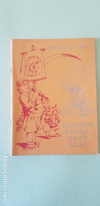 BURRIANA LLIBRET 1993 FALLA SAN BLAI (Papel - Revistas y Periódicos Modernos (a partir de 1.940) - Revista Temas Españoles)